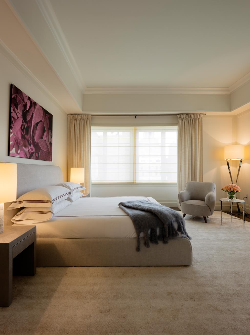 The Penthouse Suite's Master Bedroom