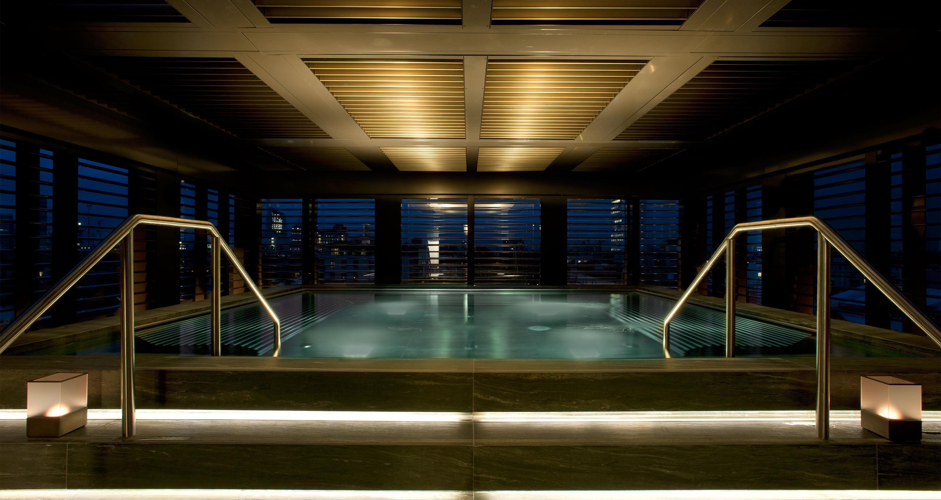 The Pool at Armani Hotel Milano