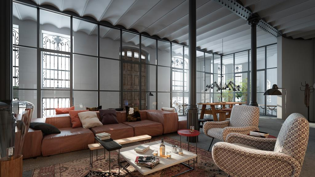 Modern Homes Inside Buildings With Period Architecture