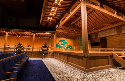 Noh theatre at Ginza Six