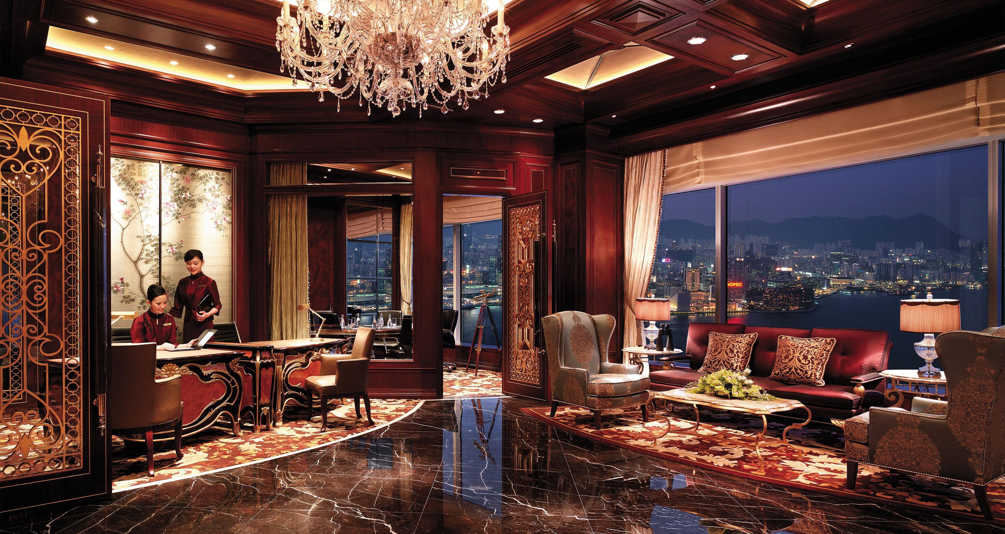Island Shangri-La, Hong Kong – Horizon Club Lounge Reception